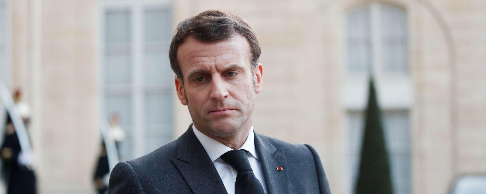 Francouzský prezident Emmanuel Macron - Sputnik Česká republika, 1920, 29.08.2021