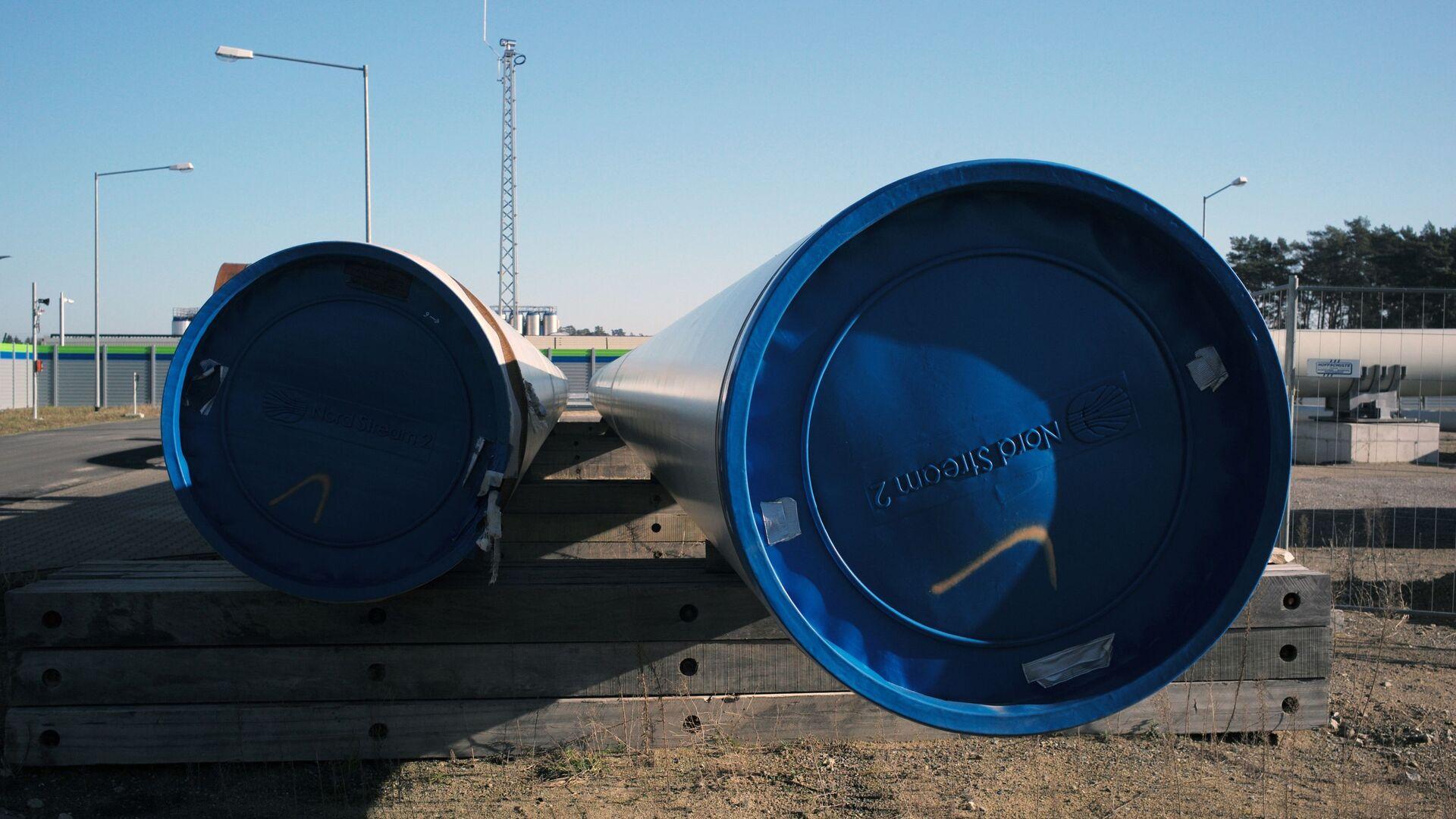 Pobřežní objekty plynovodu Nord Stream 2 v německém Lubminu - Sputnik Česká republika, 1920, 01.06.2021