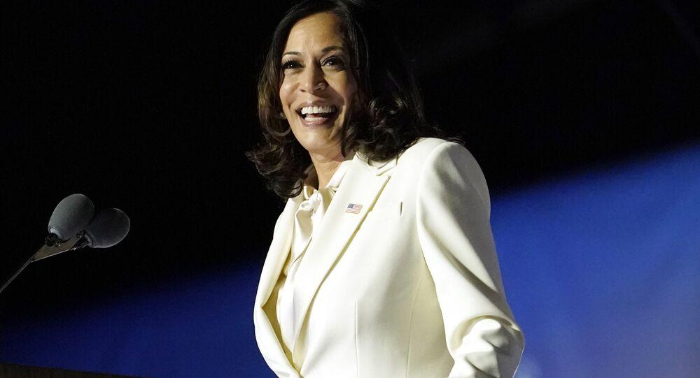 Americká viceprezidentka Kamala Harrisová