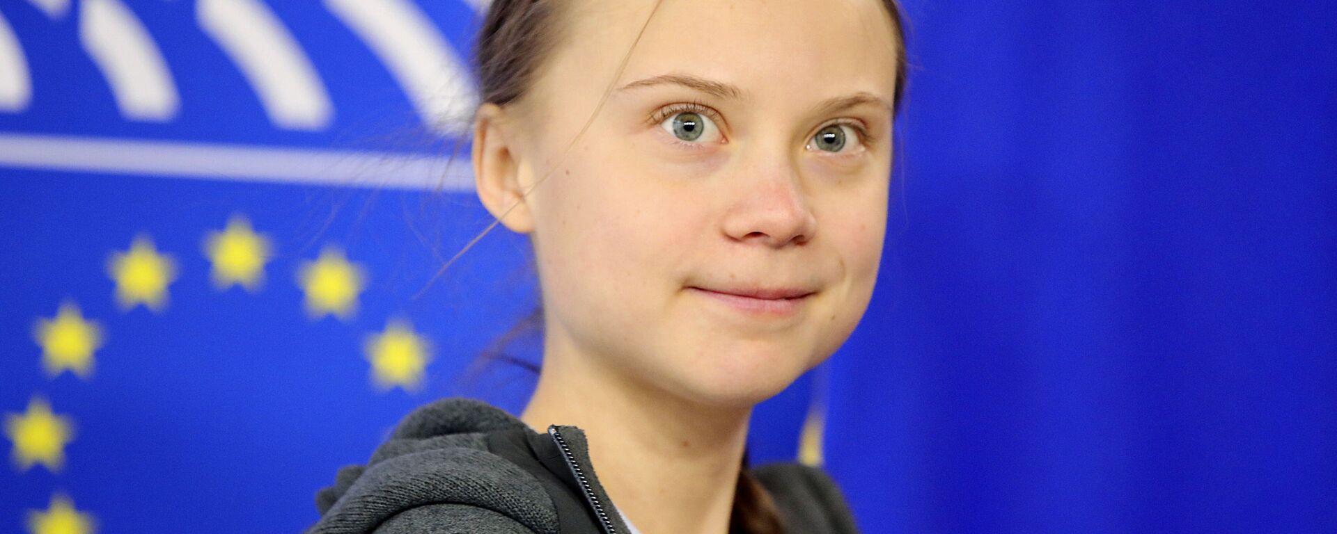 Greta Thunbergová  - Sputnik Česká republika, 1920, 27.03.2021