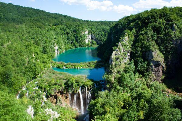 Národní park Plitvická jezera v Chorvatsku. - Sputnik Česká republika