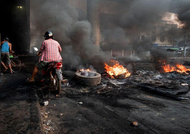 Střety v Myanmaru. Ilustrační foto