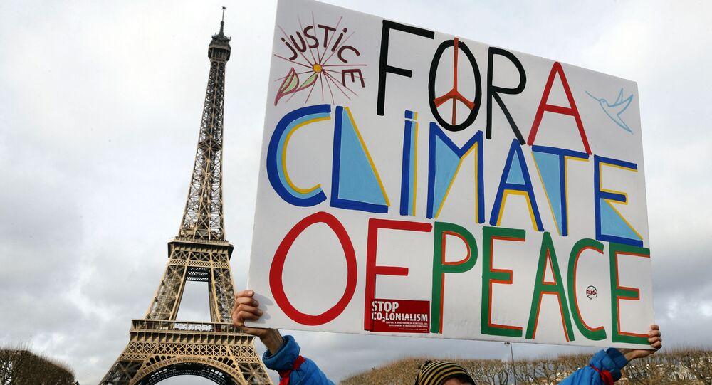 Protesty proti změnám klimatu