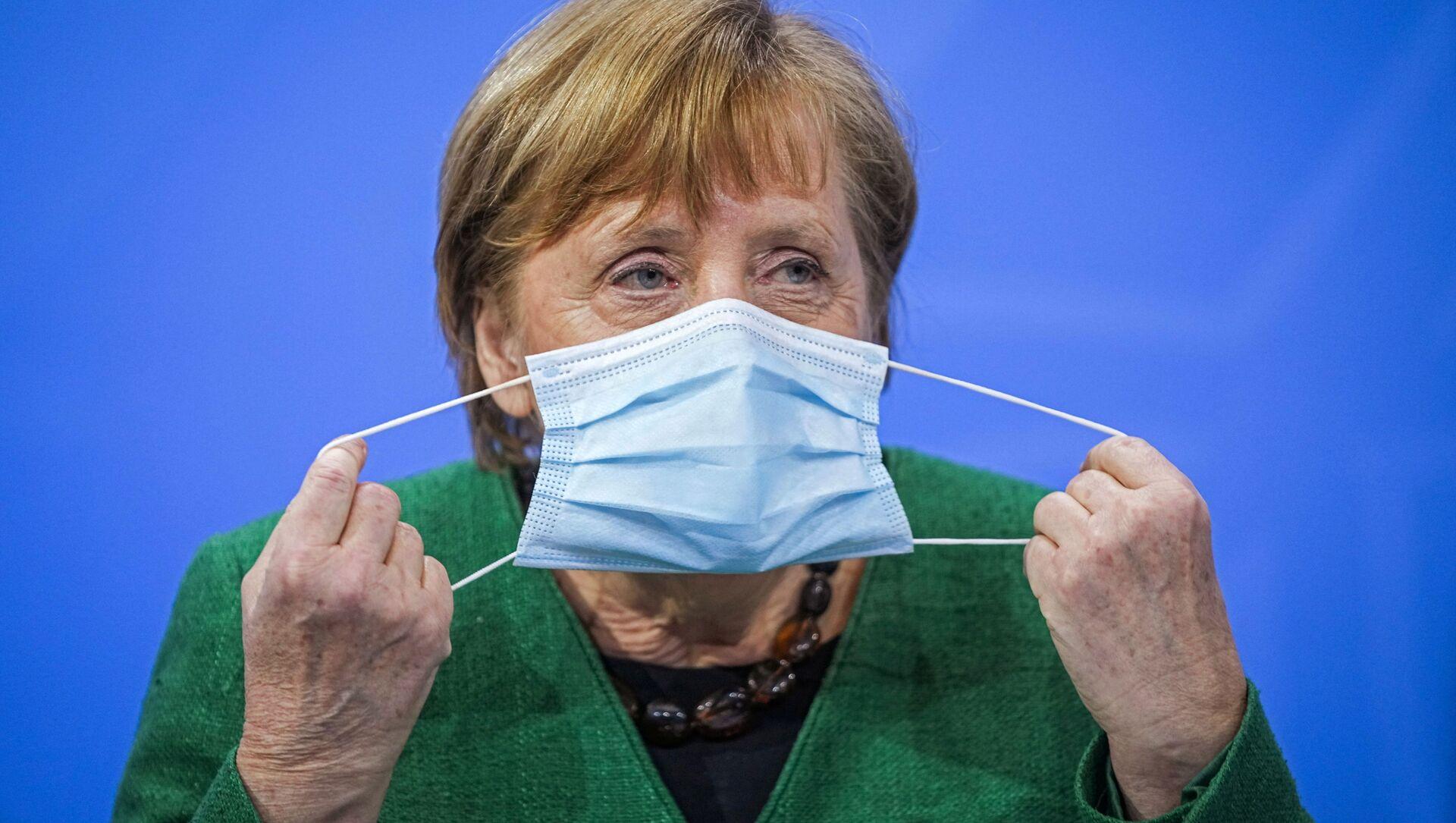 Německá kancléřka Angela Merkelová - Sputnik Česká republika, 1920, 16.04.2021
