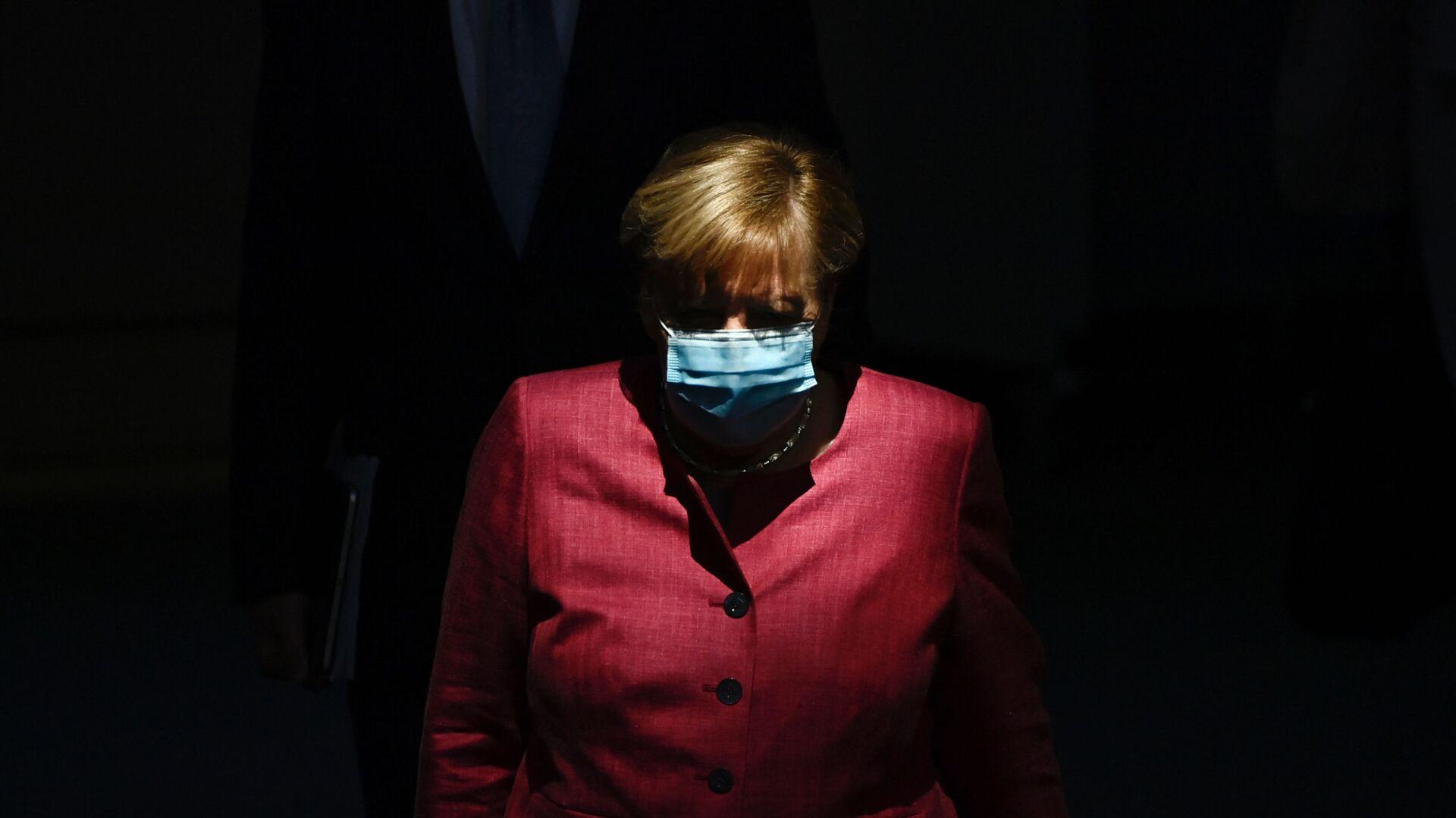 Německá kancléřka Angela Merkelová - Sputnik Česká republika, 1920, 17.05.2021