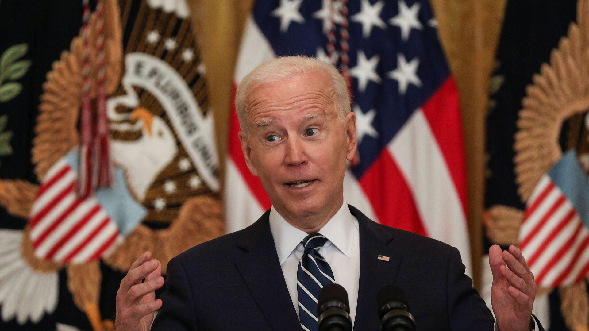 Americký prezident Joe Biden - Sputnik Česká republika, 1920, 01.04.2021