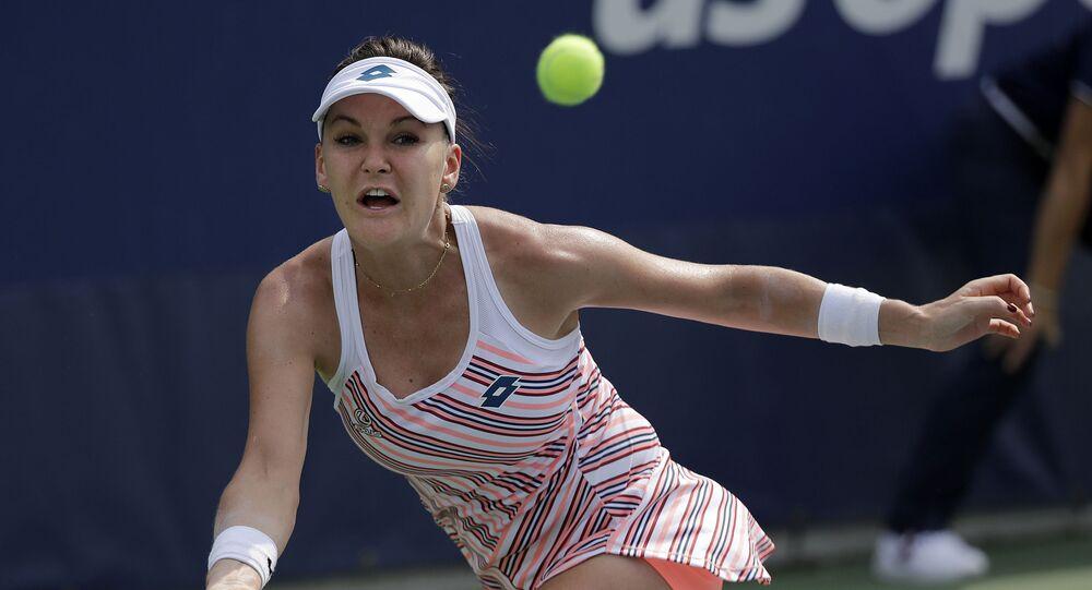 Bývalá polská tenistka Agnieszka Radwańská.