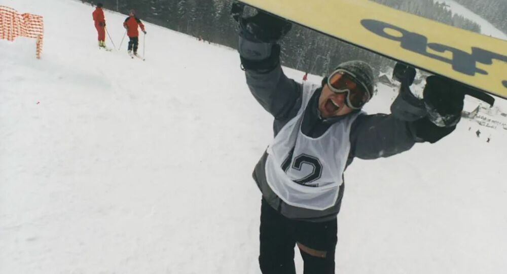 Český snowboardista David Horváth.