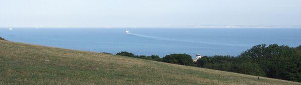 Pobřežní linie Dover v hrabství Kent. - Sputnik Česká republika