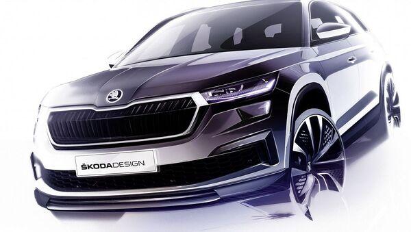 Crossover Škoda Kodiaq - Sputnik Česká republika