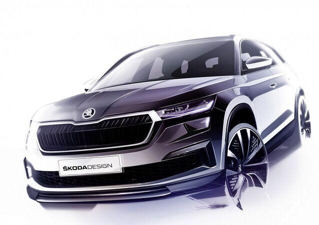 Crossover Škoda Kodiaq