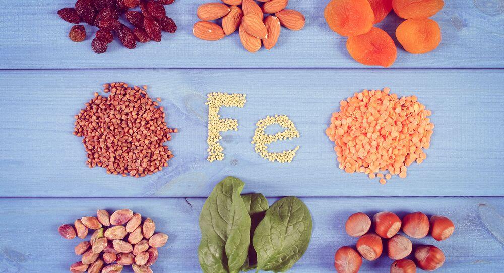 Potraviny obsahující železo
