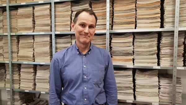 Novinář a politický analytik Erik Best - Sputnik Česká republika