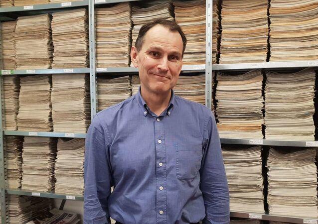 Novinář a politický analytik Erik Best