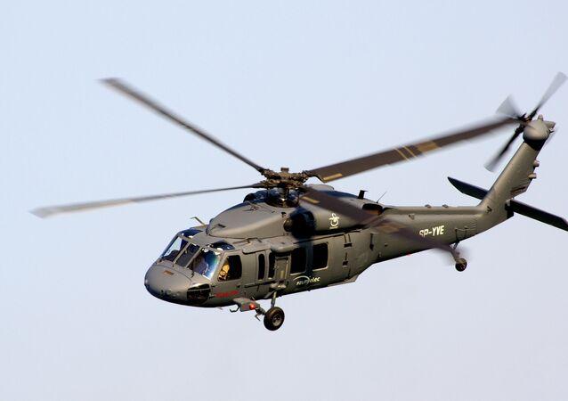 Vrtulník S-70i Black Hawk. Ilustrační foto