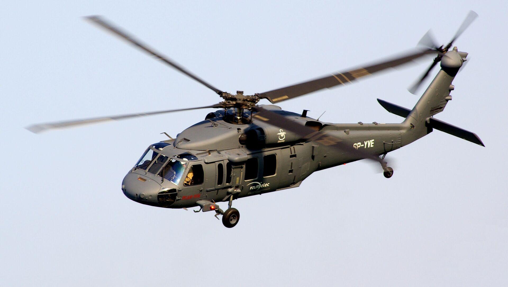 Vrtulník S-70i Black Hawk. Ilustrační foto - Sputnik Česká republika, 1920, 01.04.2021
