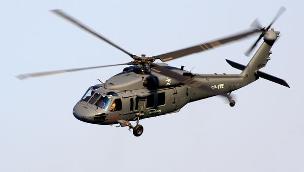 Vrtulník S-70i Black Hawk. Ilustrační foto - Sputnik Česká republika
