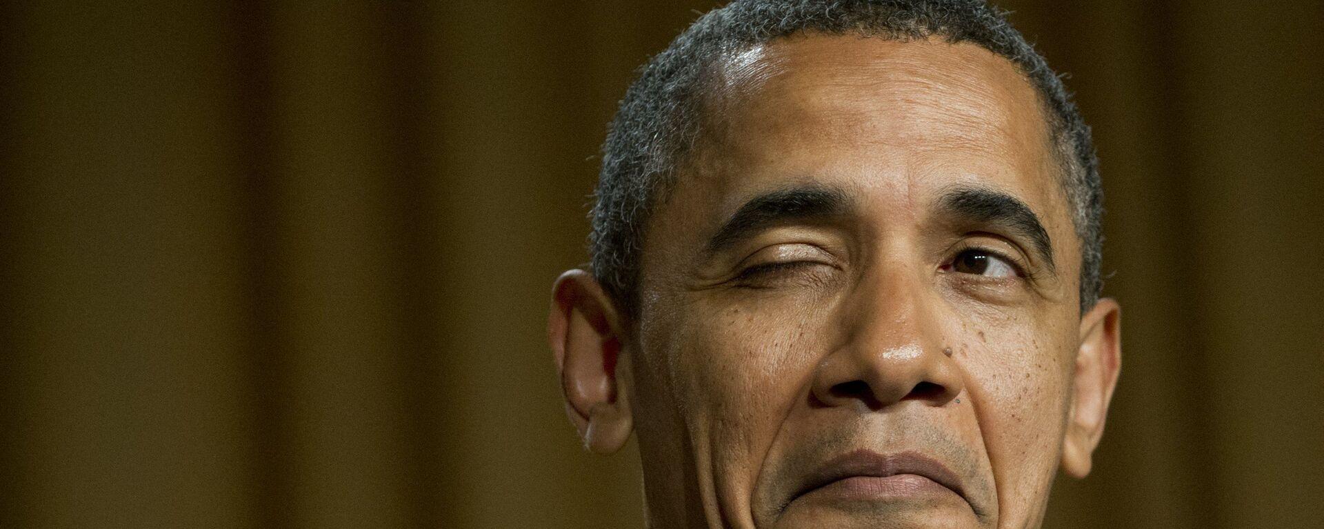 Bývalý prezident USA Barack Obama - Sputnik Česká republika, 1920, 19.05.2021