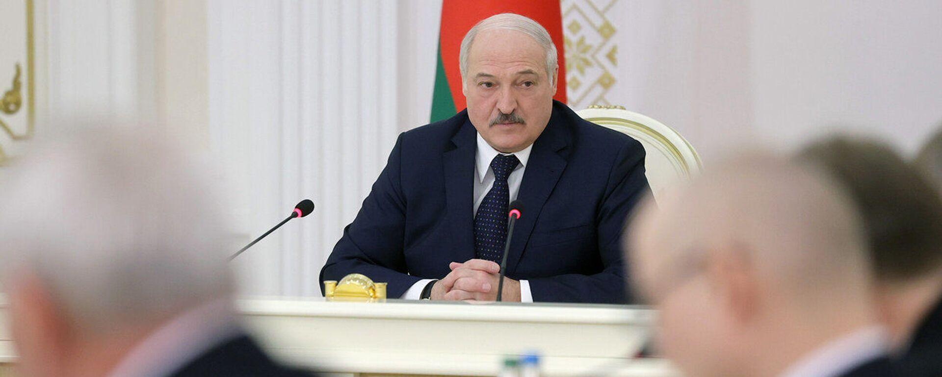 Běloruský prezident Alexandr Lukašenko - Sputnik Česká republika, 1920, 06.07.2021