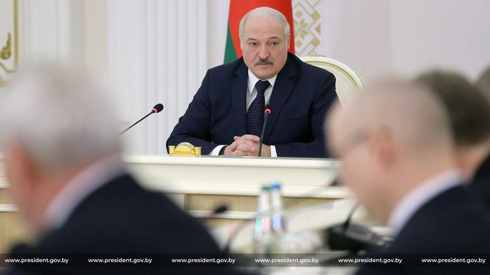 Běloruský prezident Alexandr Lukašenko - Sputnik Česká republika, 1920, 02.04.2021