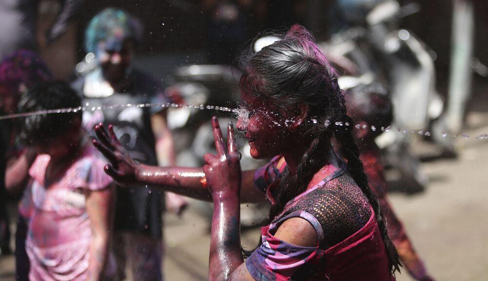 Festival Holi v Indii