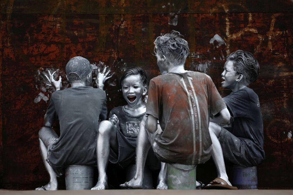 Teenageři v Jakartě, Indonésie