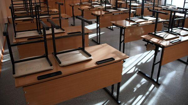 Školní lavice. Ilustrační foto - Sputnik Česká republika