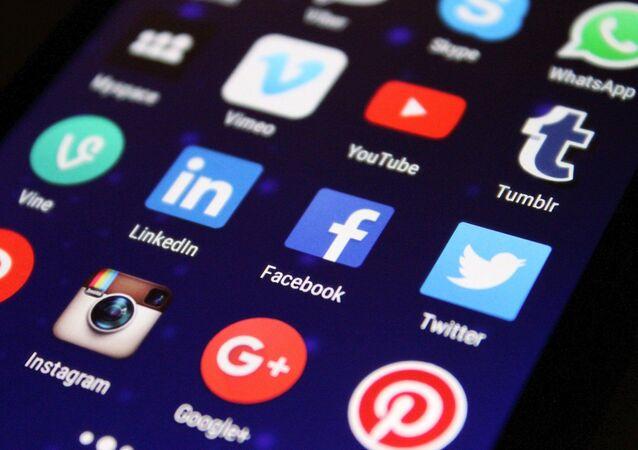 Logo Facebook, Twitter, Instagram, YouTube, Twitter
