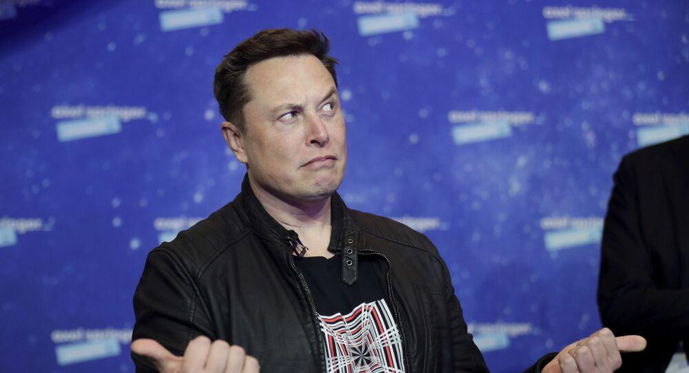 Majitel SpaceX a generální ředitel společnosti Tesla Elon Musk