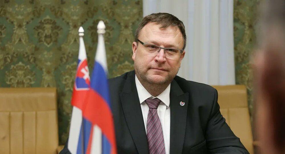 Slovenský velvyslanec v Rusku Ľubomír Rehák
