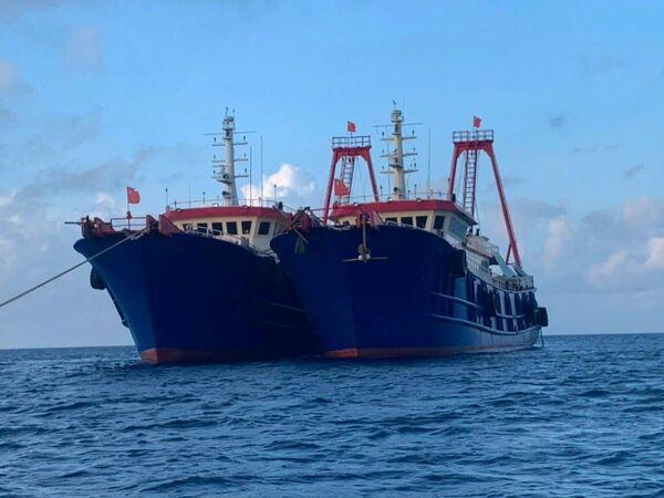Rostoucí napětí v Jihočínském moři. Filipíny požadují odsun lodí s čínskými námořními milicemi. - Sputnik Česká republika