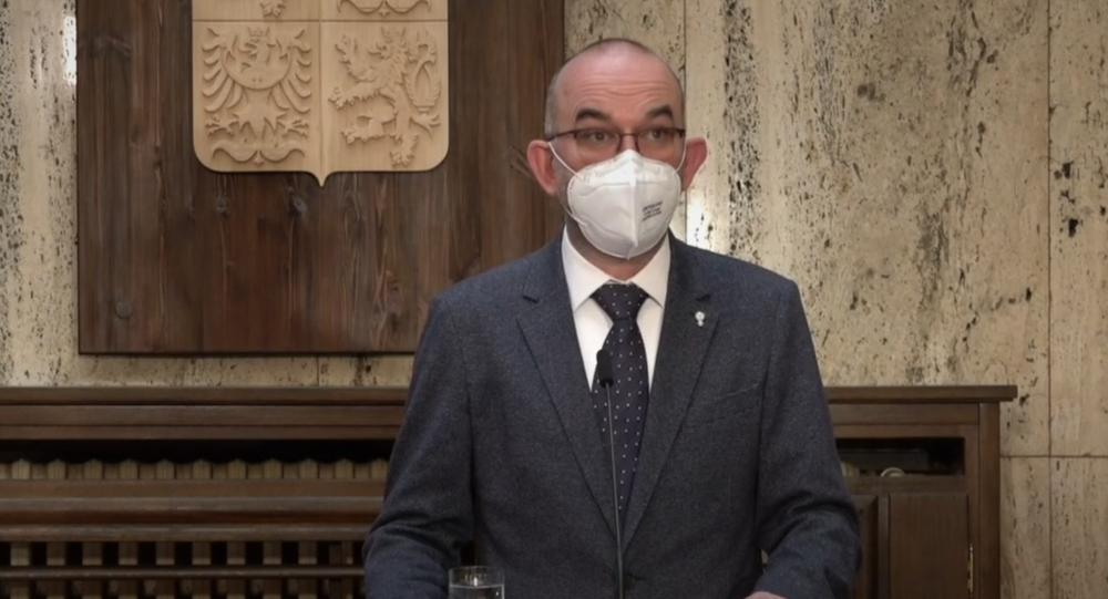 Briefing ministra zdravotnictví Jana Blatného k aktuální epidemiologické situaci