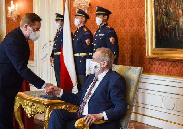 Prezident republiky Miloš Zeman jmenoval Petra Arenbergera ministrem zdravotnictví.