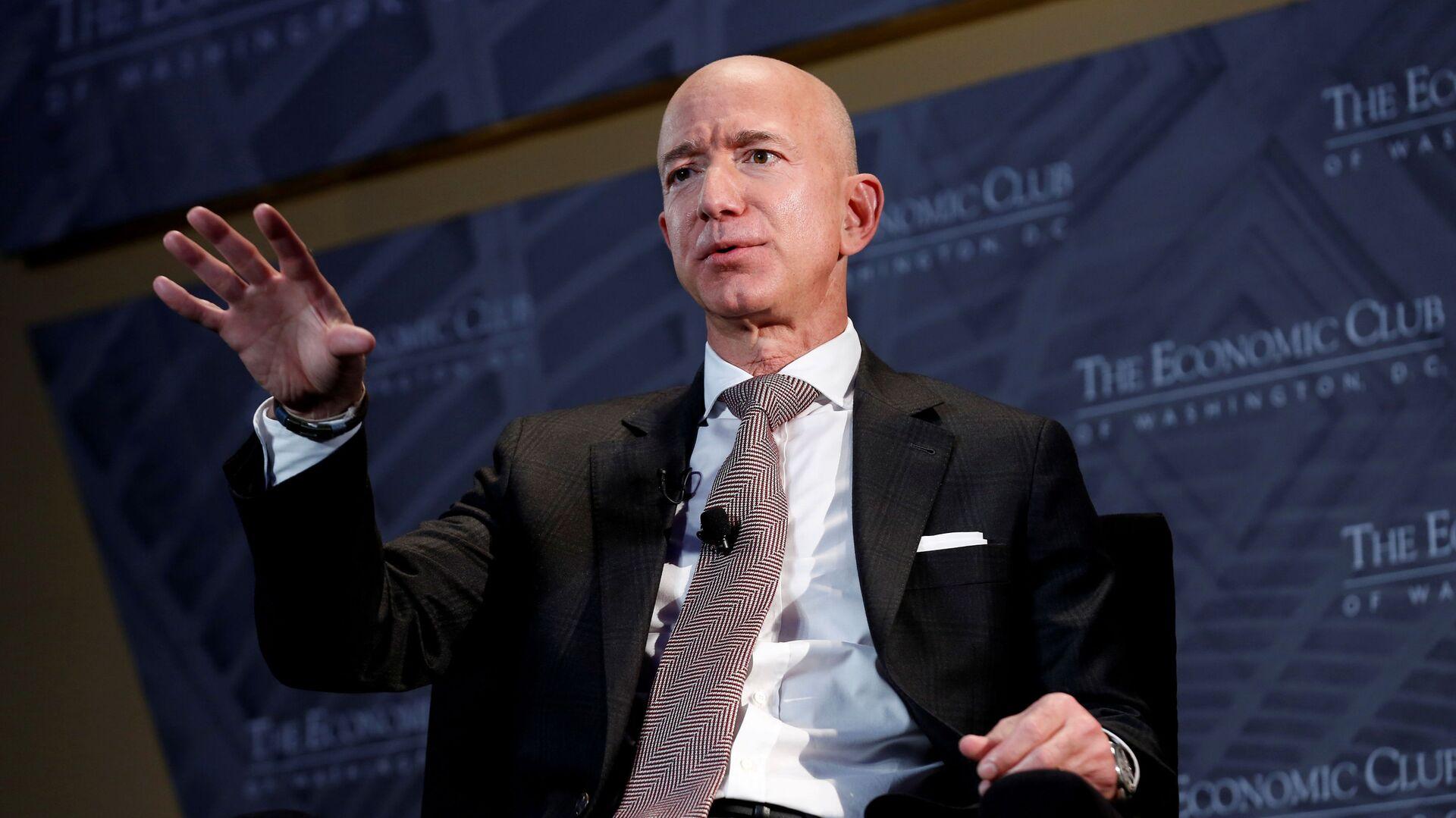 Zakladatel Amazonu Jeff Bezos - Sputnik Česká republika, 1920, 14.05.2021