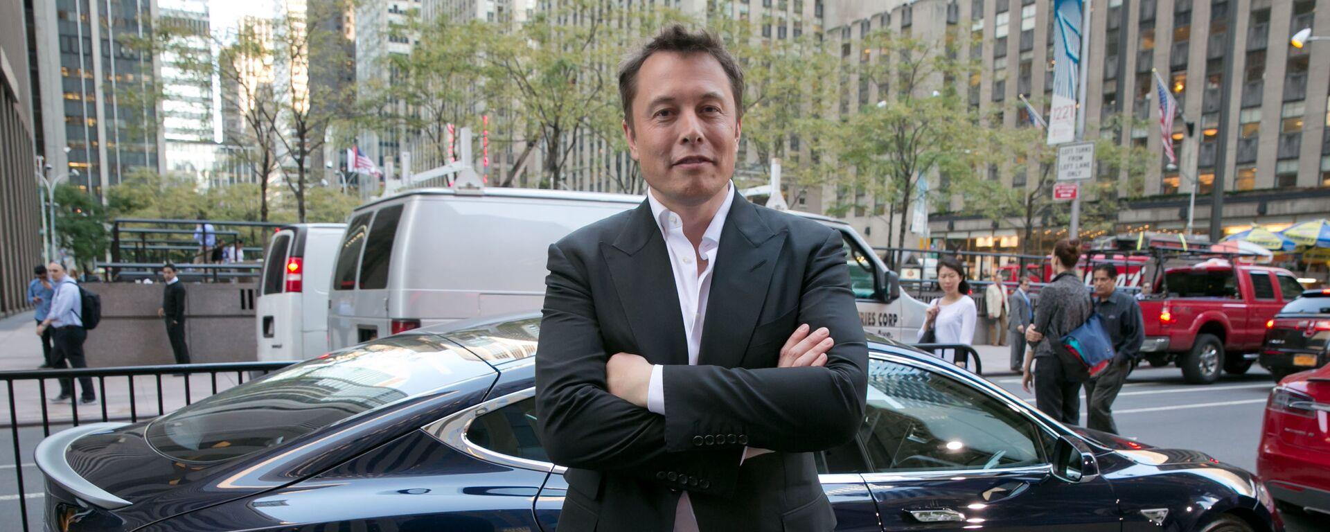 Zakladatel společností Tesla a SpaceX Elon Musk - Sputnik Česká republika, 1920, 11.06.2021