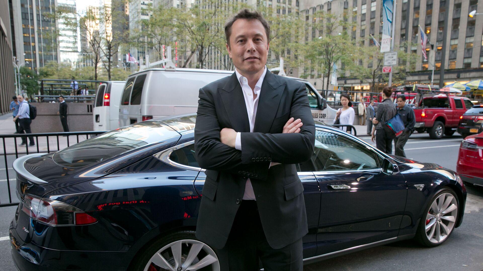 Zakladatel společností Tesla a SpaceX Elon Musk - Sputnik Česká republika, 1920, 25.05.2021