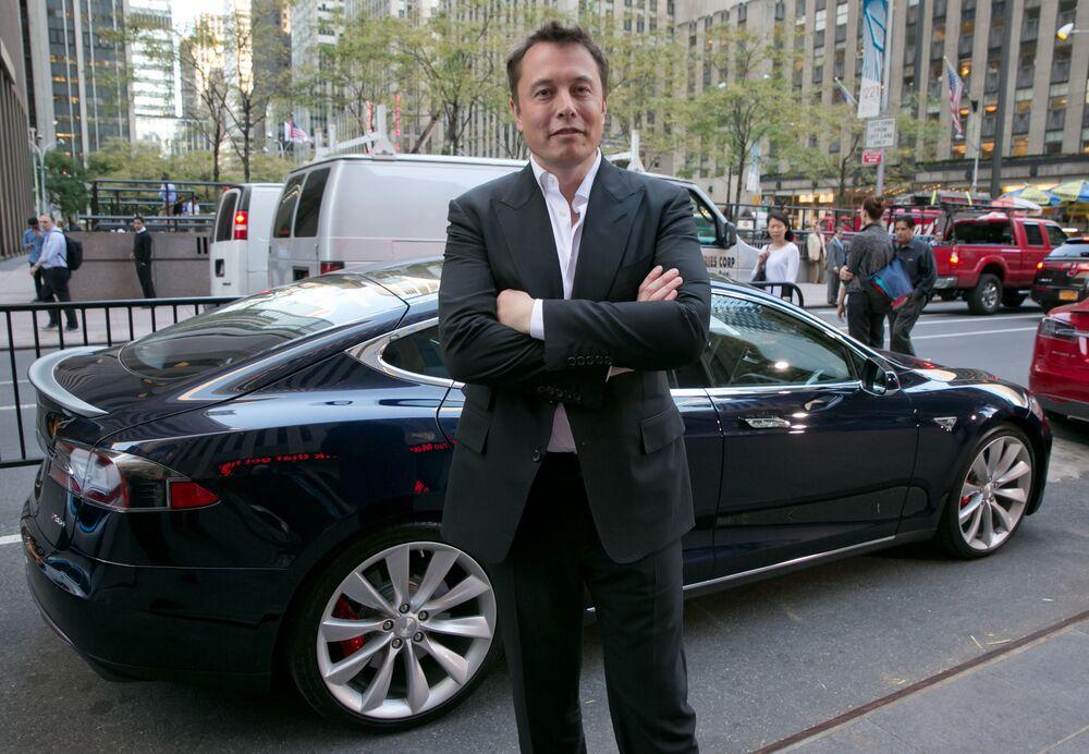 Zakladatel společností Tesla a SpaceX Elon Musk, jmění - 151 mld. dolarů