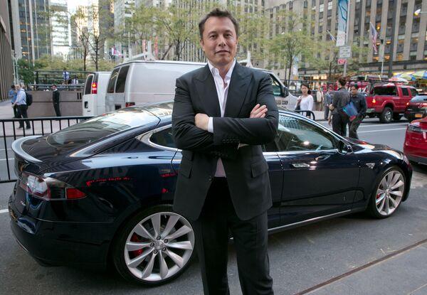 Zakladatel společností Tesla a SpaceX Elon Musk, jmění - 151 mld. dolarů. - Sputnik Česká republika