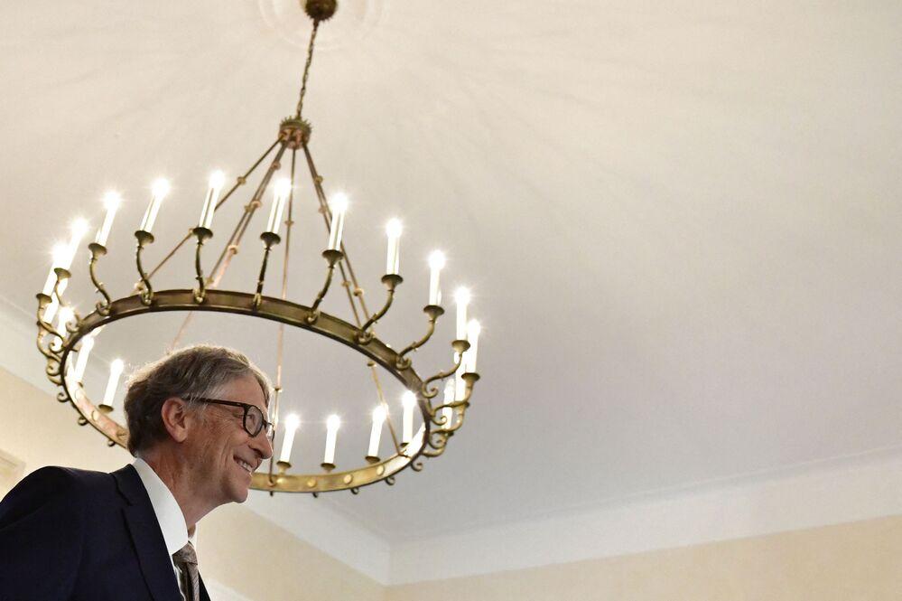 Spoluzakladatel Microsoft Corporation Bill Gates, jmění - 124 mld. dolarů