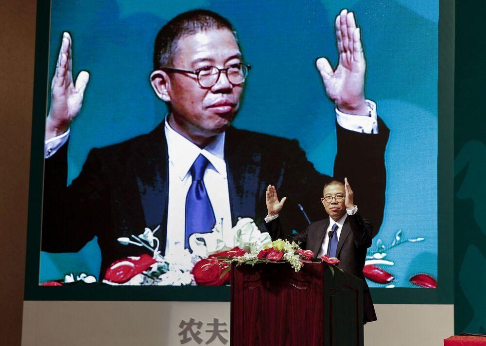 Čínský podnikatel Zhong Shanshan, jmění - 68,9 mld. dolarů