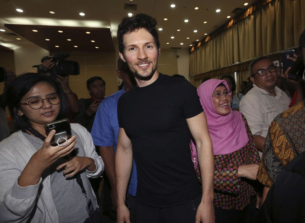 Zakladatel ruské sociální sítě VKontakte a komunikační platformy Telegram Pavel Durov, jmění - 17,2 mld. dolarů