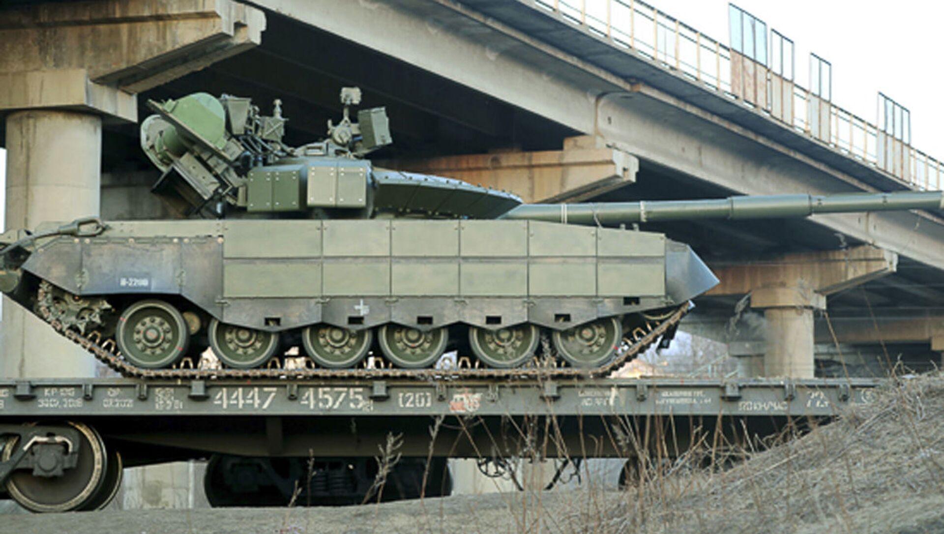 Tank T-80BVM - Sputnik Česká republika, 1920, 08.04.2021