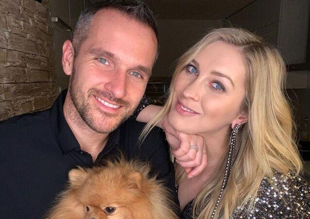 Zorka Hejdová s manželem