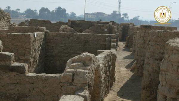 Archeologové objevili na území Egyptu Zlaté město - Sputnik Česká republika