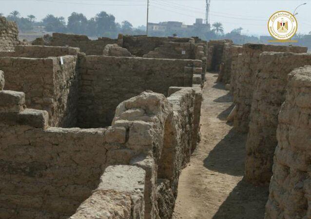 Archeologové objevili na území Egyptu Zlaté město