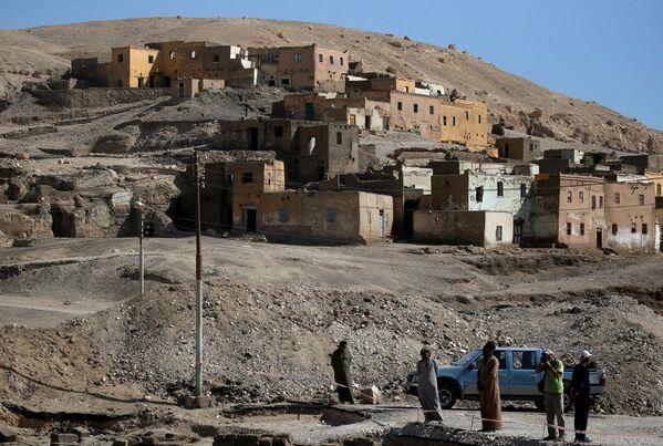 Jde o největší starověké osídlení, které kdy bylo objeveno v Egyptě.  - Sputnik Česká republika