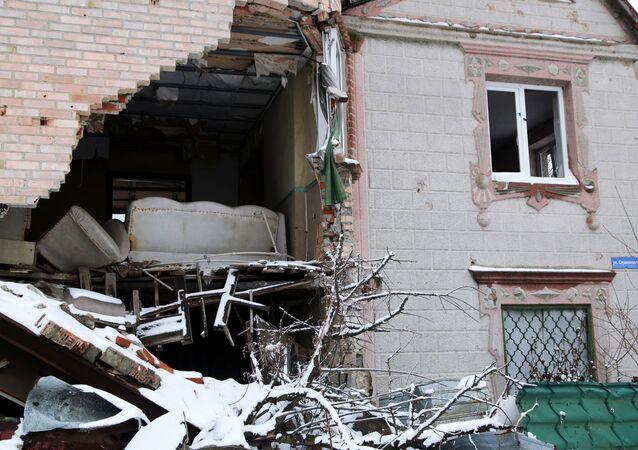 Konflikt na Donbasu. Ilustrační foto