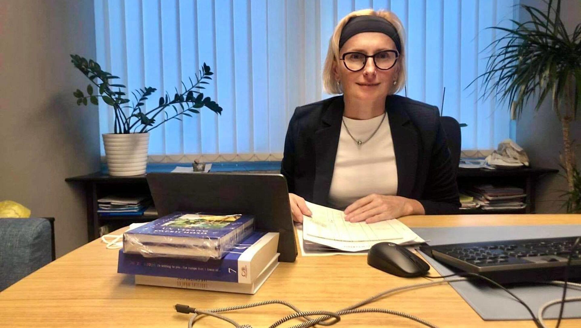 Poslankyně Evropského parlamentu a místopředsedkyně KSČM Kateřina Konečná - Sputnik Česká republika, 1920, 13.04.2021