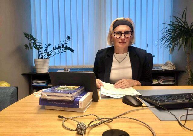 Poslankyně Evropského parlamentu a místopředsedkyně KSČM Kateřina Konečná