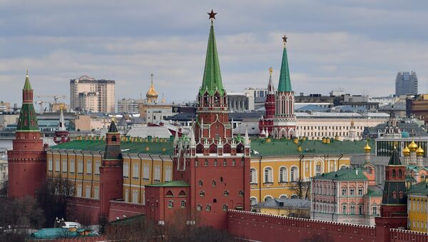 Pohled na Kreml v Moskvě - Sputnik Česká republika